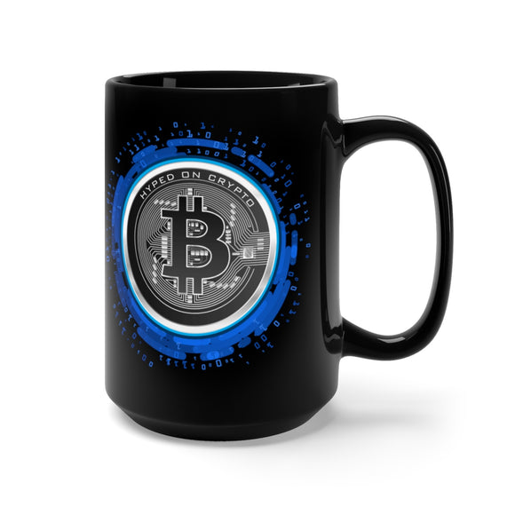HoC Bitcoin - Black Mug 15oz