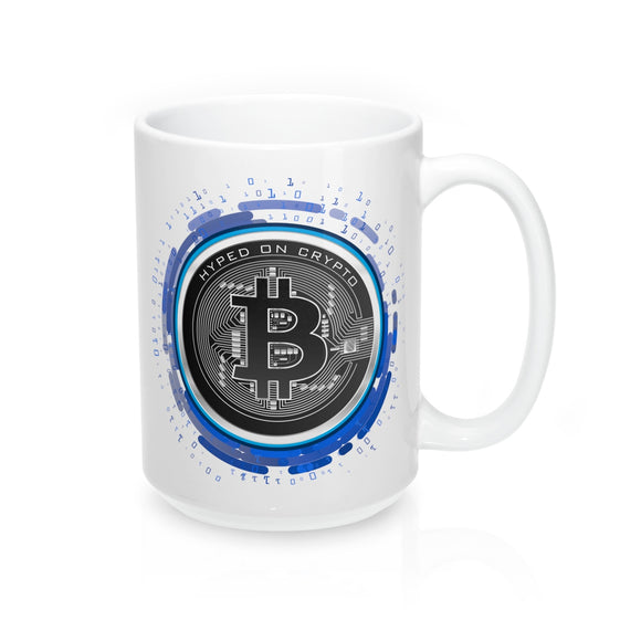 HoC Bitcoin - White Mug 15oz