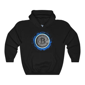 HoC Bitcoin - Hooded Sweatshirt (Up to 5XL!)