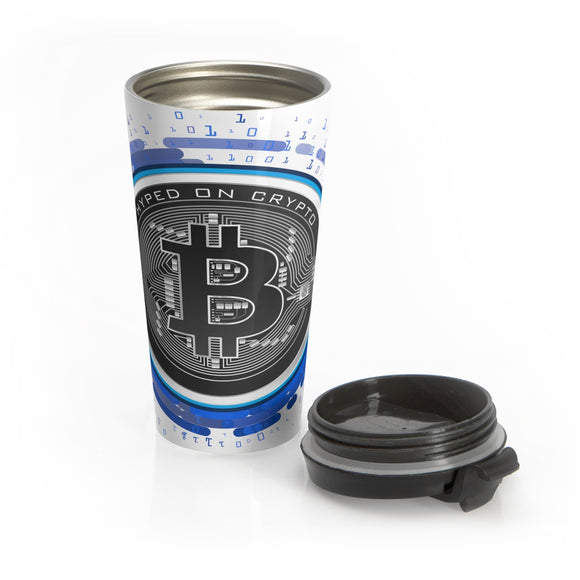 HoC Bitcoin - Stainless Steel Travel Mug
