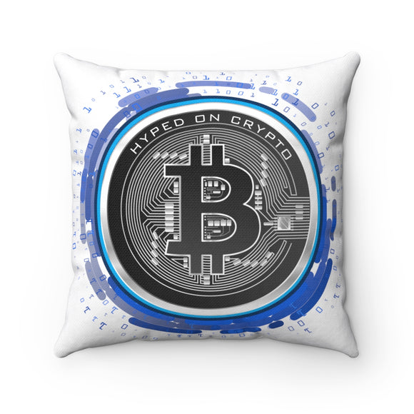 HoC Bitcoin - Square Pillow