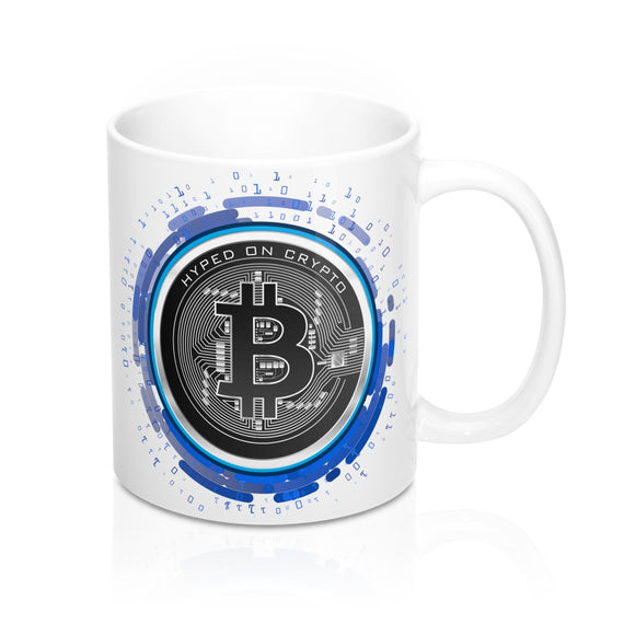 HoC Bitcoin - White Mug 11oz