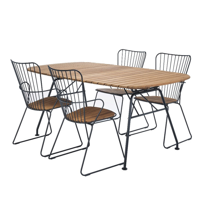HOUE BEAM Table & PAON Dining Chairs