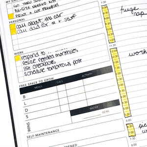 Passion Planner Daily Health Tracker Stickers