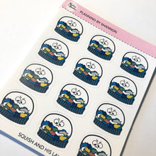 Squish the Blob with His Laundry Planner Stickers