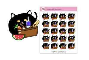 Thomas Has a Picnic • Planner Stickers