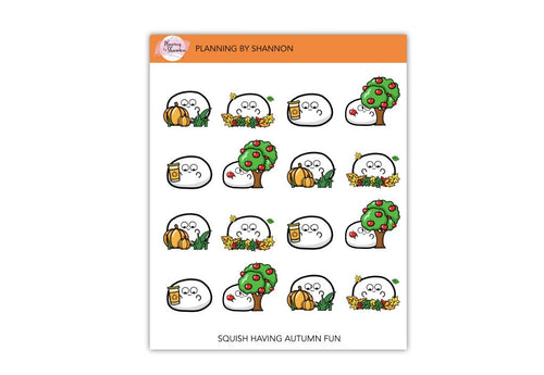 Fall Fun Planner Stickers!