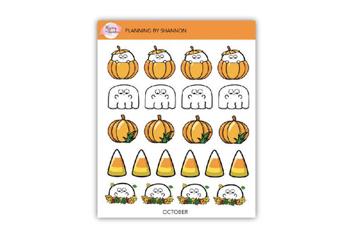 October Fun Planner Stickers!