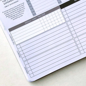 Passion Planner Weekly Habit Tracker Stickers for Small, Medium, and Large