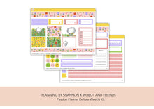 Passion Planner Weekly Kit Deluxe • Wildflower Wobots • Collaboration with Wobot and Friends