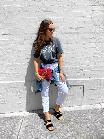 Styling a graphic tshirt