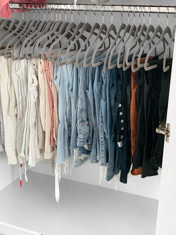 Organising your clothes