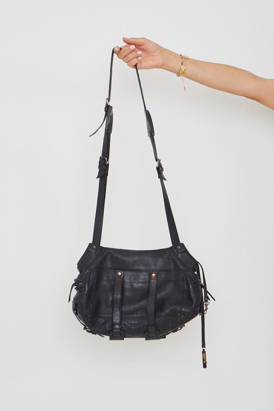 Jerome Dreyfuss Black Handbag
