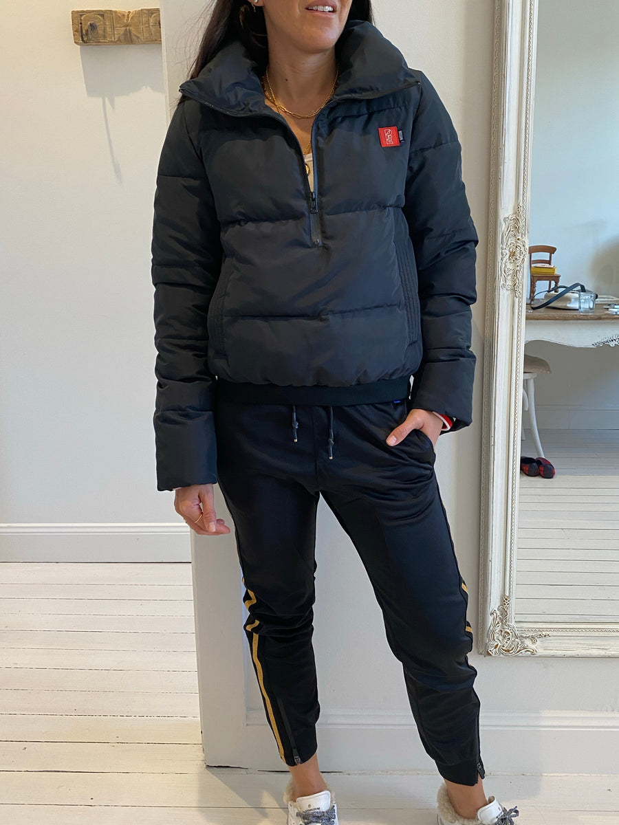 PE nation black puffer jacket