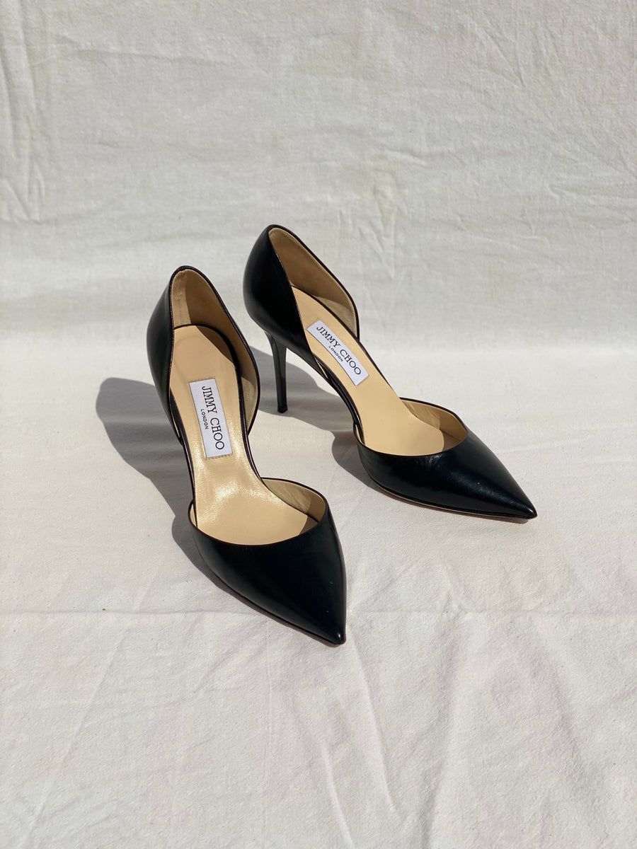 Jimmy Choo Black Heel Pumps - 40