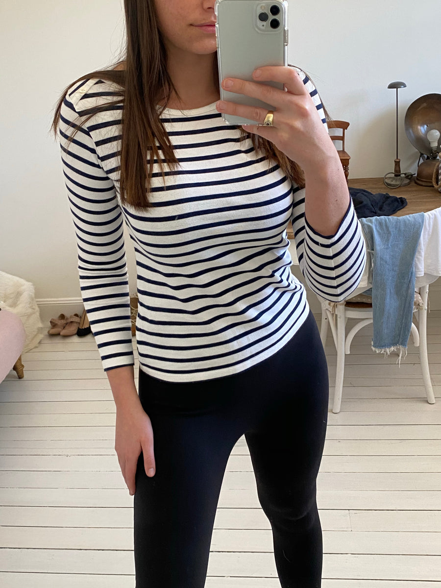 Majestic stripe top