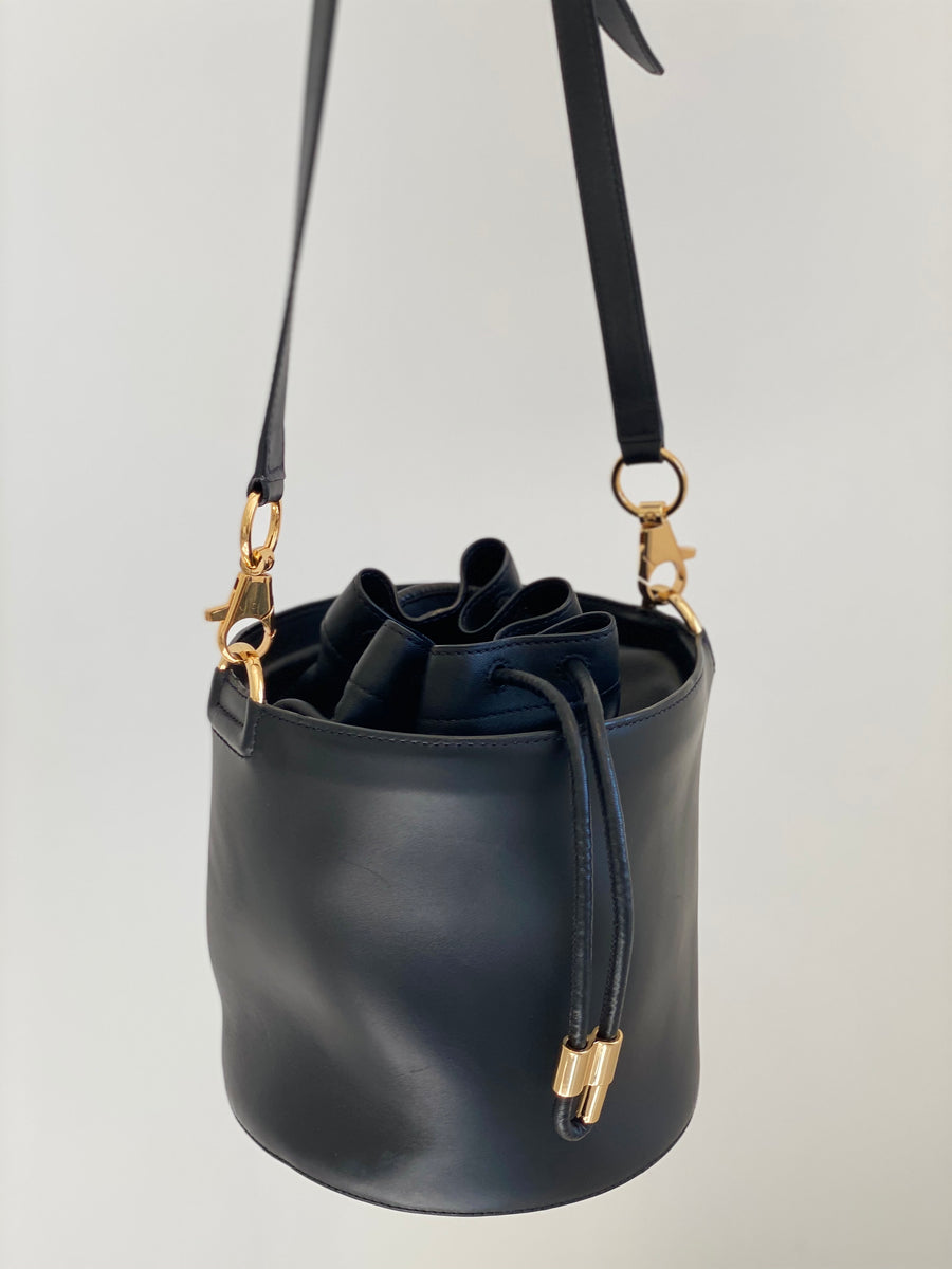 Alexander Wang Alpha Leather Bucket Bag