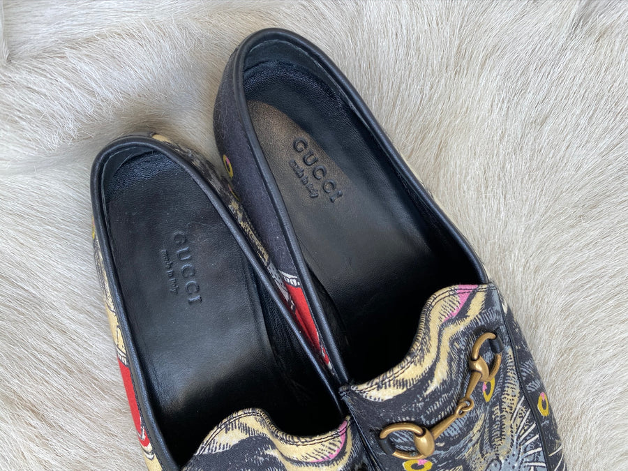 Gucci Embellished Loafers - Size 38