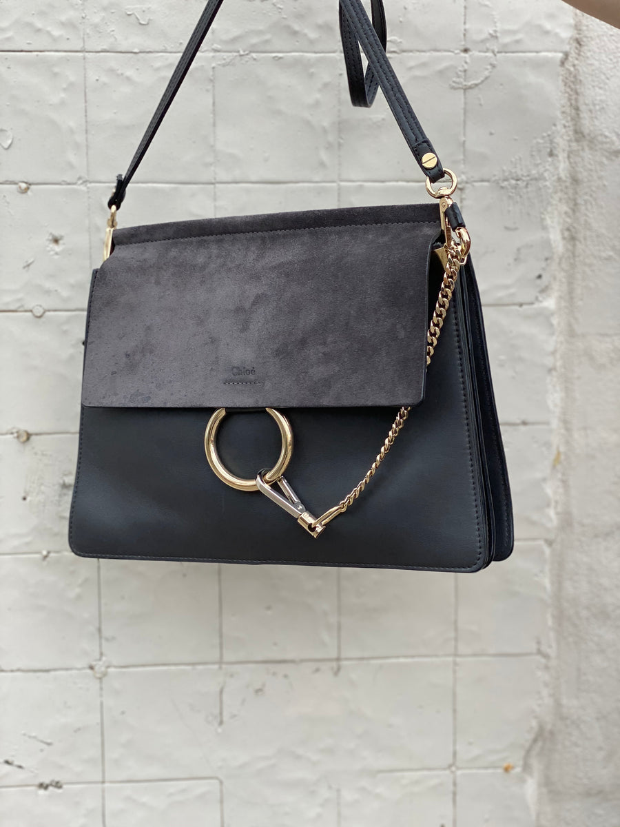 Chloe Faye black bag