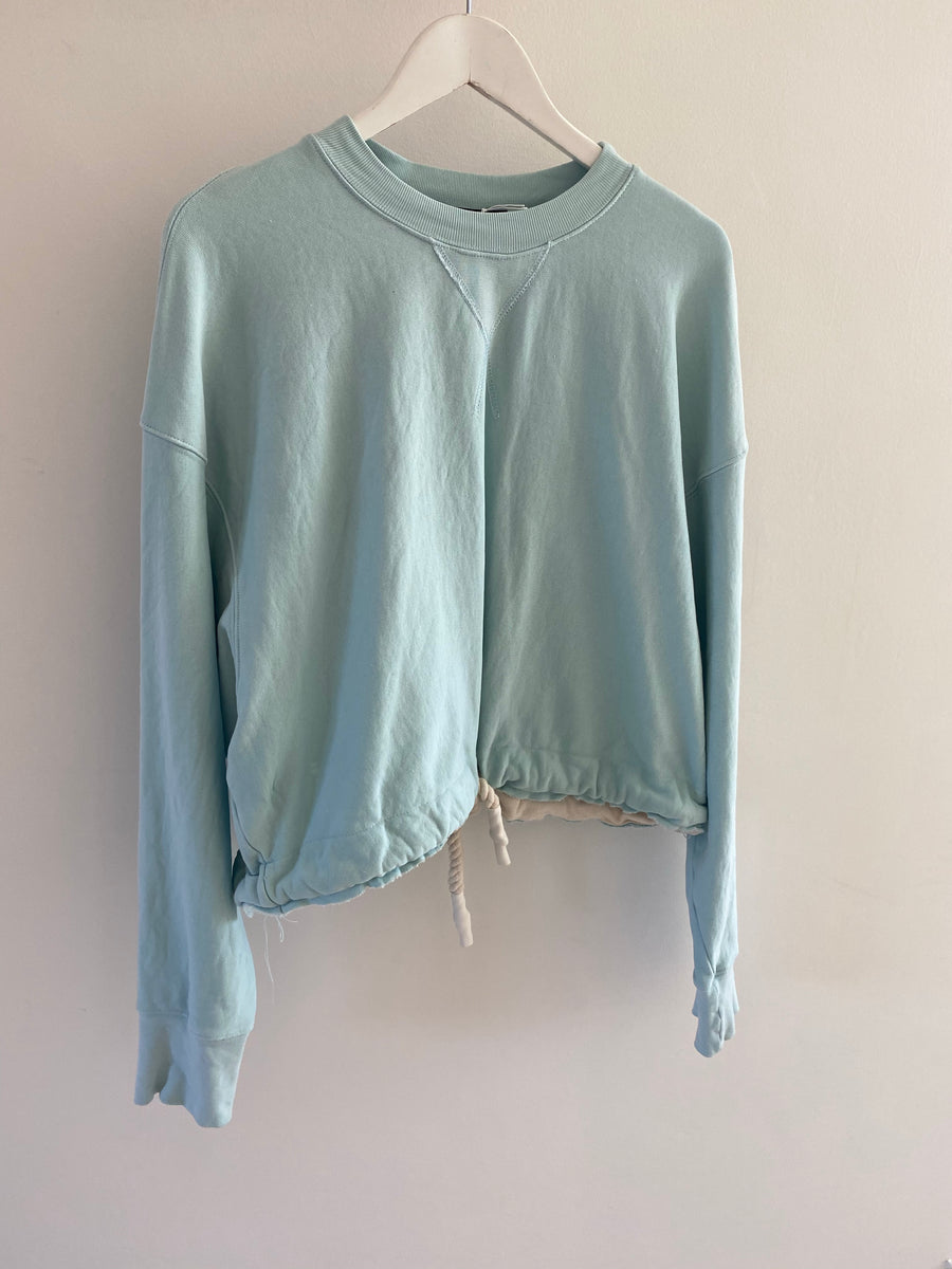 Bassike turquoise sweater