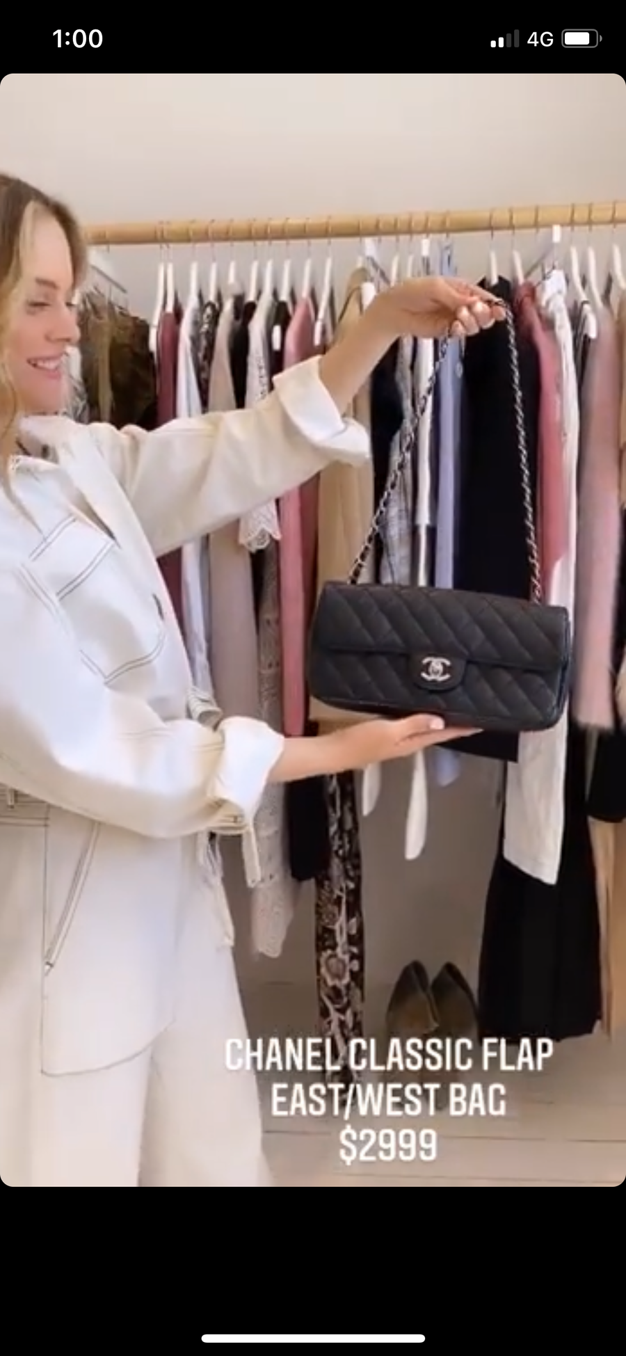 Chanel quilted black caviar bag #1803 - 1st payment