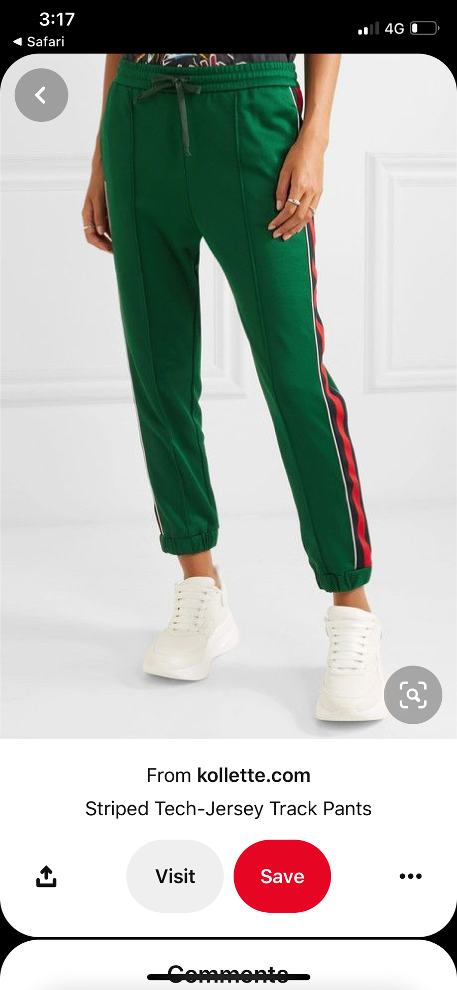 Gucci trackpant size 1