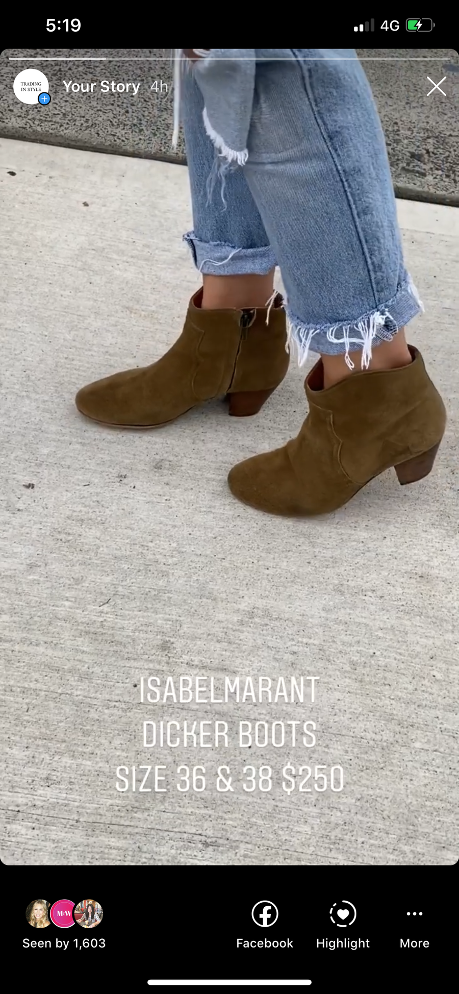 Isabel Marant suede tan dicker boots - 38