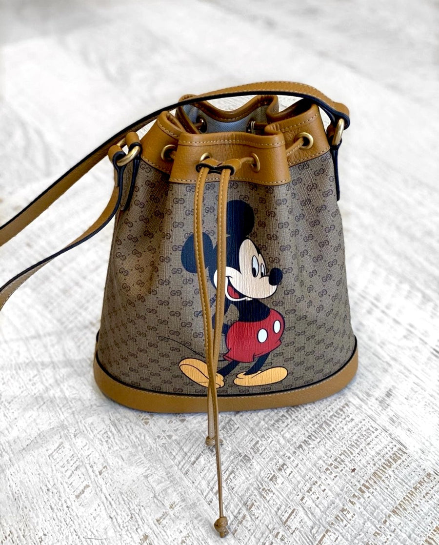Gucci Mickey Mouse Bucket Bag