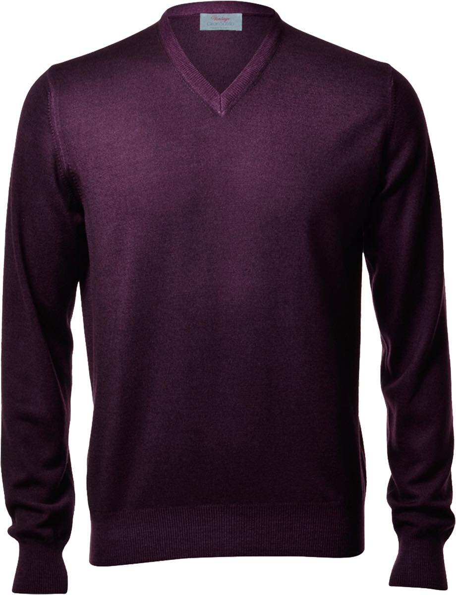 VINTAGE MERINO V NECK SWEATER 4 colours