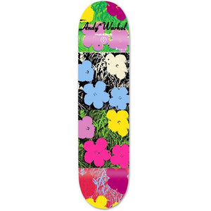 Andy Warhol, Flowers Skateboard Deck by Alien Workshop, GC Editions