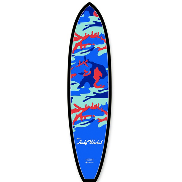 Andy Warhol, Camouflage Surfboard, GC Editions