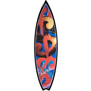 Andy Warhol, Carbon Money Surfboard, GC Editions