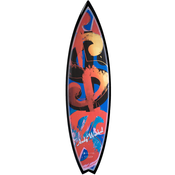 , Carbon Money Surfboard, GC Editions