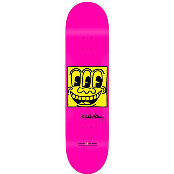 , Alien Workshop x Keith Haring TV Face Skateboard Deck, GC Editions