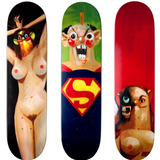 , Supreme x George Condo Skateboard Decks, GC Editions