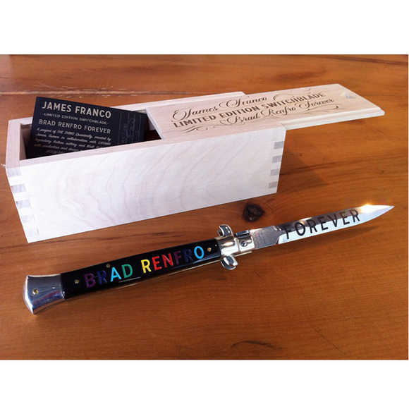 James Franco, Limited Edition Switchblade, GC Editions