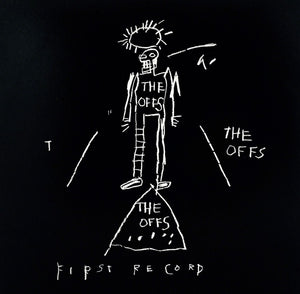 "Jean-Michel Basquiat, Basquiat Album Cover ""The Offs"", GC Editions"