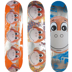 Jeff Koons, Supreme x Jeff Koons Monkey Train Skateboard Decks, GC Editions