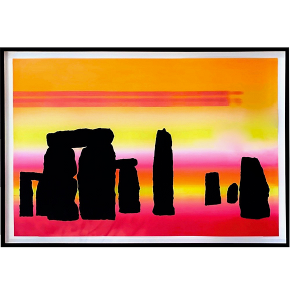 Jeremy Deller, Stonehenge at Sunset, GC Editions