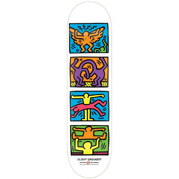 Keith Haring, Keith Haring X Alien Workshop Gilbert Crockett Retrospect, GC Editions