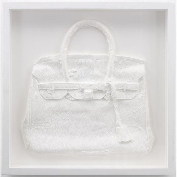 Shelter Serra, Homemade Hermes Birkin Bag (White), GC Editions