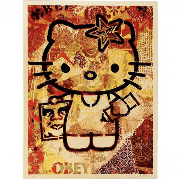 Shepard Fairey, Hello Kitty, GC Editions