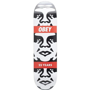 Shepard Fairey, Andre 3 Face, Obey 25 Years Skateboard Deck, GC Editions