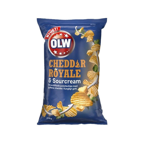 Cheddar Royale & Sourcream Snacks OLW