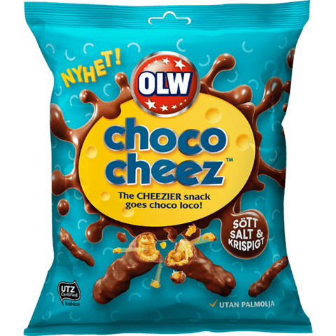 Choco Cheez Snacks OLW