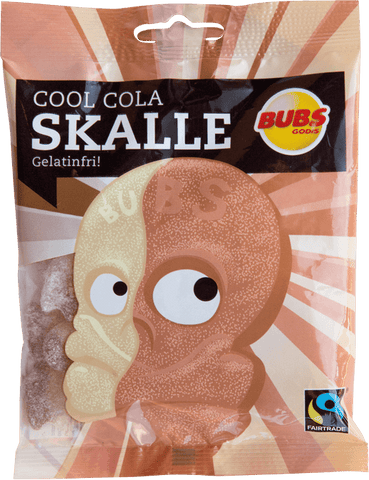 Cool Cola Skalle Candy Bubs
