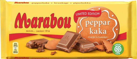 Gingerbread Chocolate Chocolate Marabou 200g