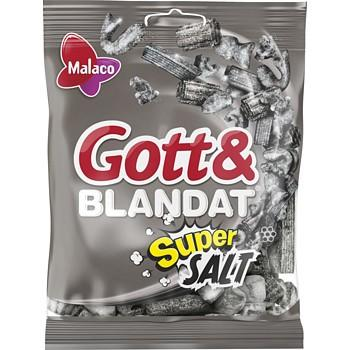 Gott & Blandat Supersalt Candy Malaco