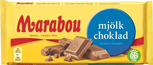 Milk Chocolate Chocolate Marabou 100g