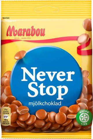Never Stop Candy Marabou